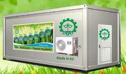 Гидропонное оборудование для выращивания готового корма. Жезказган