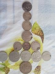 Монеты СССР с1943-1965 год,  с 1965-2000